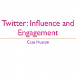 Twitter: Influence and Engagement