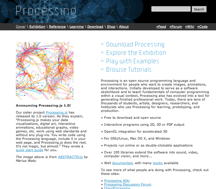 Processing Website Screenshot
