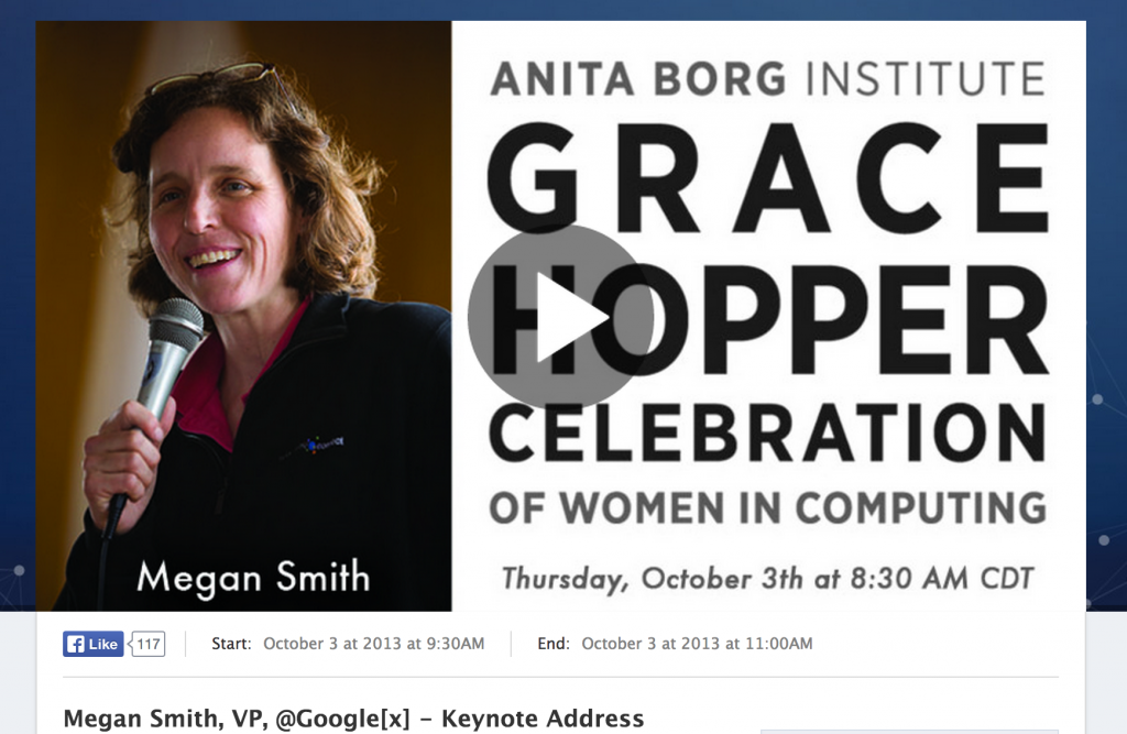 megan smith at ghc