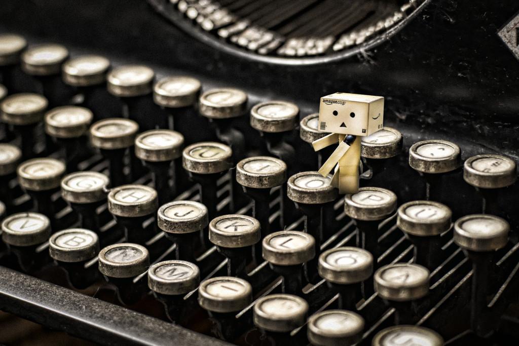 danbo typewriter