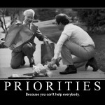 priorities: because you can