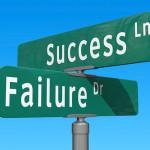 success ln / failure dr