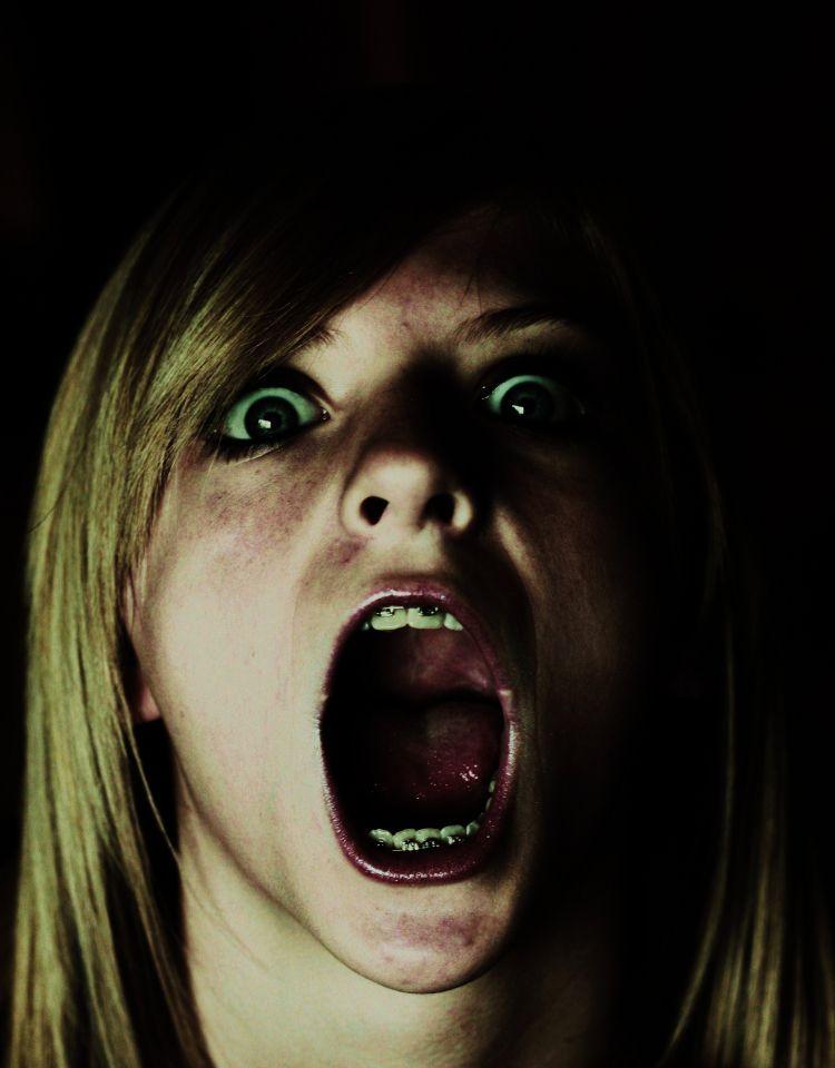 FREE Scary Nightmare Horror Scream Girl Creative Commons