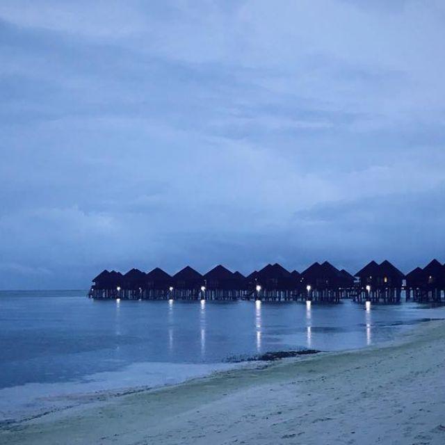Ocean huts