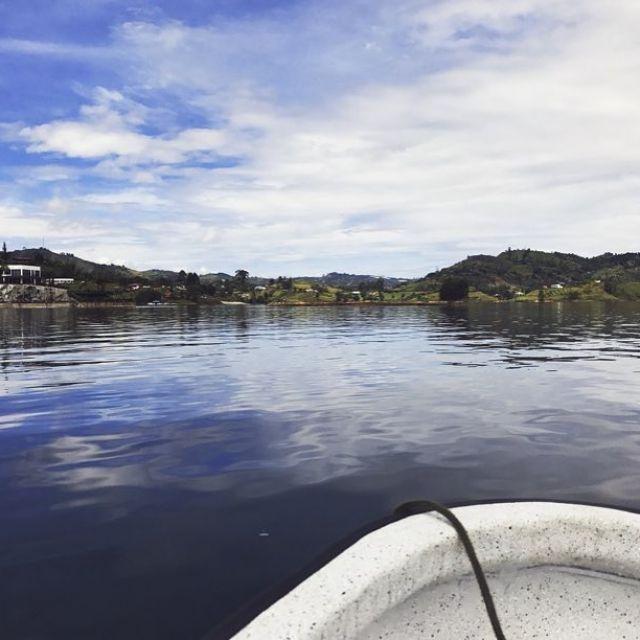 Boat in Guatap
