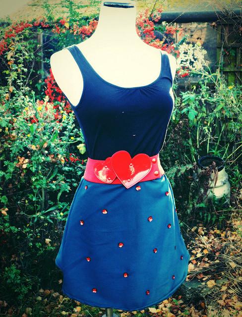 green rose sequin mini skirt