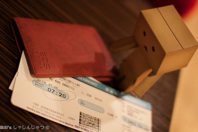 Danbo's adventure in Korea