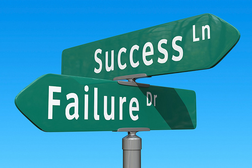 success ln / failure dr